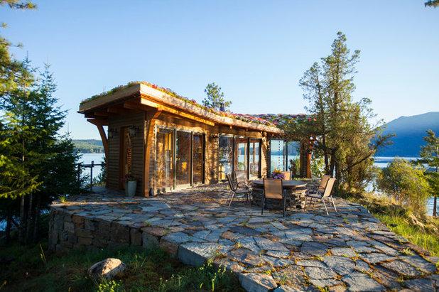 Rustic Landscape by Sayler | Owens | Kerr design studio