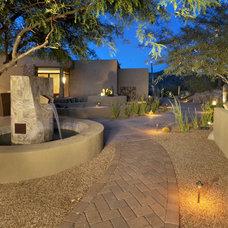 Contemporary Landscape by Process Design Build, L.L.C.