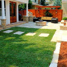 Contemporary Landscape by Twisted Vine Design