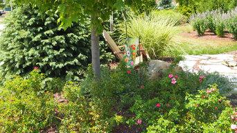 Plainfield landscaping renovation