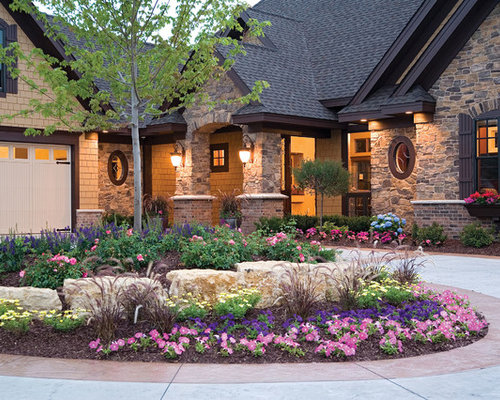 Landscape Design Ideas For Front Yard lush landscaping ideas for your front yard hgtv 47535 Front Yard Landscape Design Ideas Remodel Pictures Houzz
