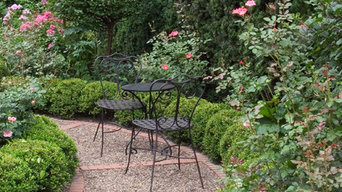 Plant Bed Ideas with Garden Path, Winnetka,IL.