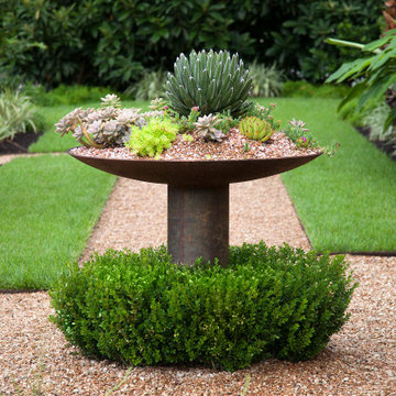 Planter and Path