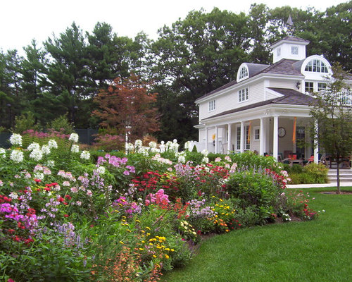 Backyard Flower Garden Designs | Houzz
