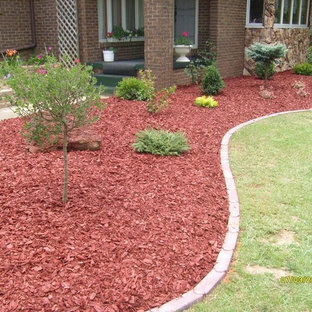 75 Beautiful Red Mulch Landscaping Pictures Ideas Houzz