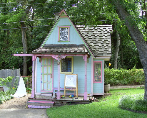 Whimsical playhouse home design ideas pictures remodel for Whimsical playhouses