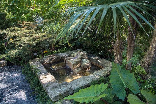 10 fontane per trasformare il tuo giardino in un oasi for Vasca pesci giardino