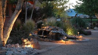 Pond and Landscape in Albuquerque, NM