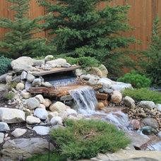 Modern Landscape by Calgary Landscaping Service