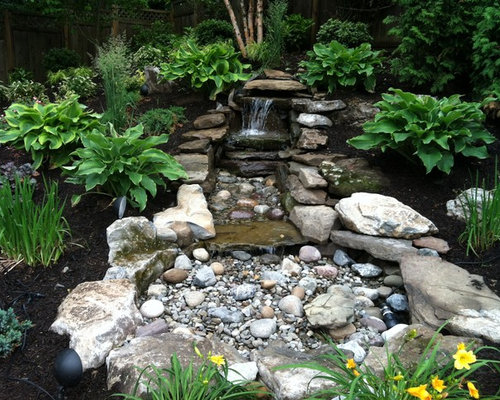 Pondless water feature ideas pictures remodel and decor for Design of pondless waterfalls