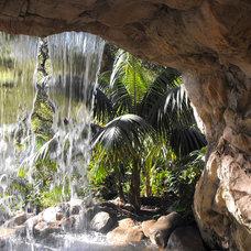 Mediterranean Landscape by Garcia Rock And Water Design