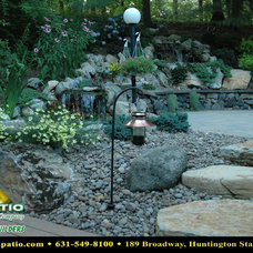 "Traditional Landscape by Deck and Patio Company ""Outdoor Living Experts"""