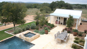 Pool and Bocce Court