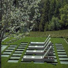 Contemporary Landscape by Terra Ferma Landscapes