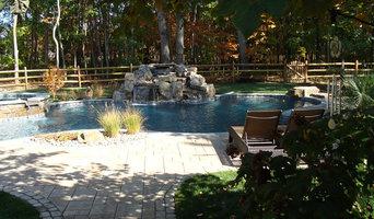 Pool design and landscape