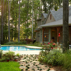 Traditional Landscape by Scott Hamilton Custom Builder