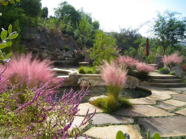 Mediterranean Garden by Shirley Bovshow