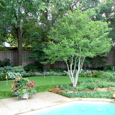 Traditional Landscape by Synthetic Grass Pros