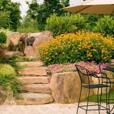 Traditional Landscape by Walnut Hill Landscape Company