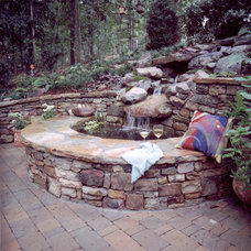 Traditional Landscape by King Landscaping