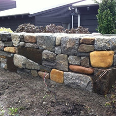 Traditional Landscape by Arthur & Suede Stoneworks