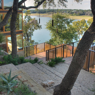 This is an example of a modern landscaping in Austin.
