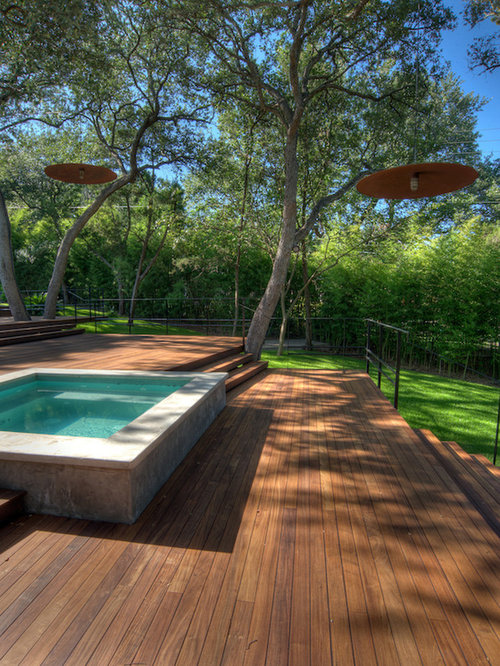 Best Raised Pool Deck Design Ideas & Remodel Pictures | Houzz