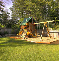 traditional kids by Paradise Restored Landscaping & Exterior Design