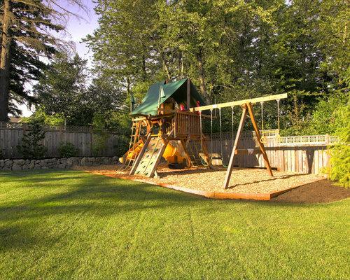 backyard playground houzz