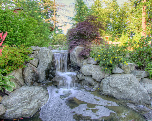 granite boulder waterfall photos - Waterfall Design Ideas
