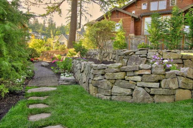 Stein auf stein mit trockenmauern neue akzente setzen for Paradise restored landscaping exterior design
