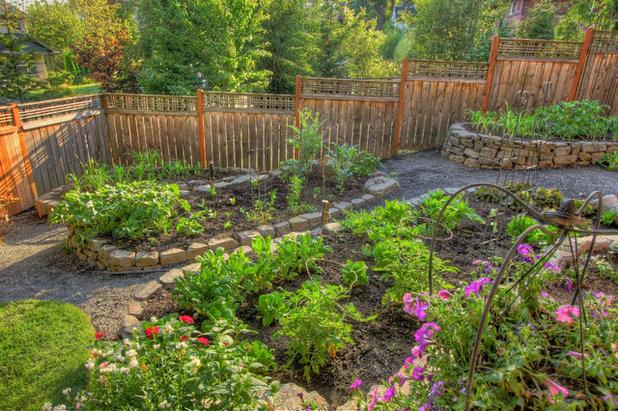 トラディショナル 庭 by Paradise Restored Landscaping & Exterior Design