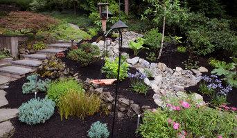 Portland, Oregon Dry Rock Creek Bed and Garden Design