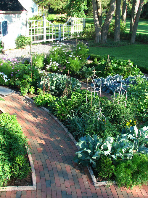 Front Yard Vegetable Garden Home Design Photos
