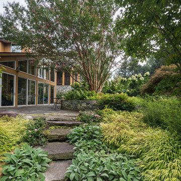 Potomac Kitchen Garden and Outdoor Living Area