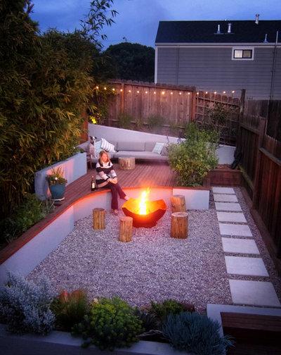 11 tipps f r kleine rechteckige g rten und reihenhausg rten. Black Bedroom Furniture Sets. Home Design Ideas