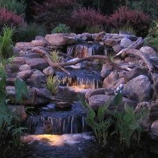 Eclectic Landscape by Premier Ponds