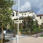 Solana xeriscape cameron flagstone drought tolerant for Capstone exterior design firm