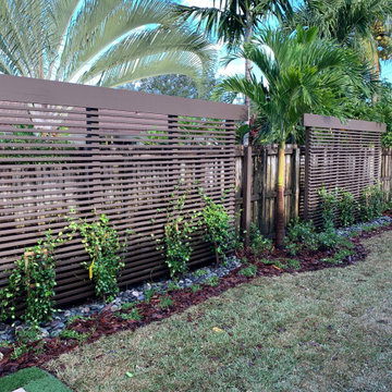 Privacy Fence installed