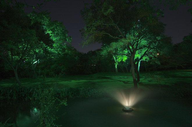 Traditional Landscape by E2 Illumination Designs