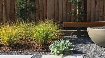 Private Modern Garden