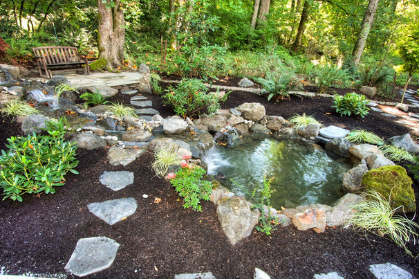 Rustic Landscape by Paradise Restored Landscaping & Exterior Design