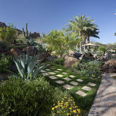 Southwestern Landscape by Exteriors By Chad Robert