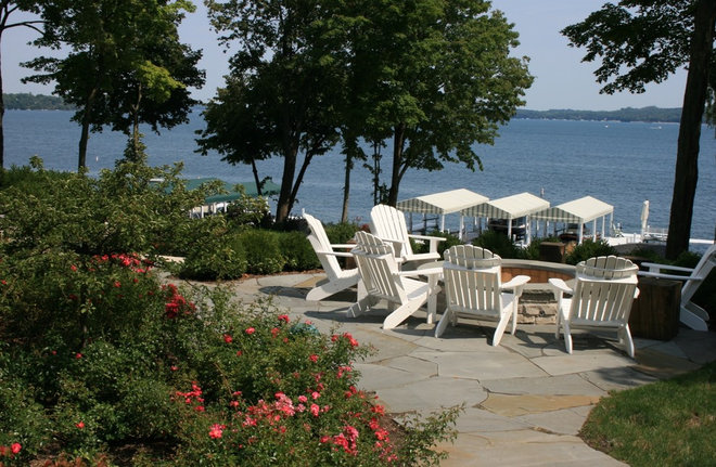 Lakefront landscaping for Lakefront landscaping photos