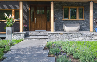 How to Make Your Stone House Feel at Home in the Landscape