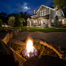 Traditional Exterior by R.Youngblood & Co.