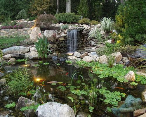 Fish pond ideas photos for Koi pool fleetwood