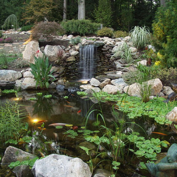 Private Residence with Koi Pond -1