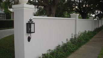 Residential Foam Privacy Walls