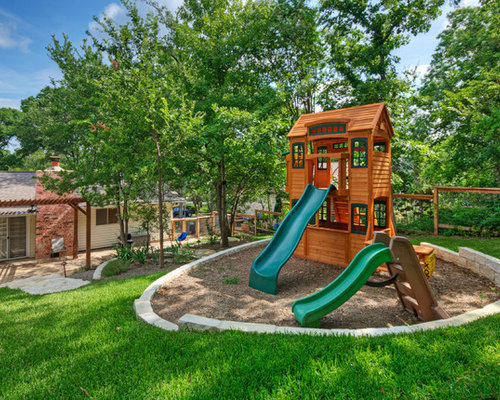 Outdoor Playhouse Home Design Ideas Pictures Remodel And Decor